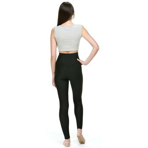 Proskins Slim Woman High Waisted Leggings Slimming Caffeine Pants Anti-Cellulite
