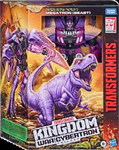 Transformers Generations Kingdom War for Cybertron Megatron (Beast) *New*