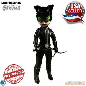 Living-Dead-Dolls-DC-Universe-Catwoman-10-Inch-Doll-BRAND-NEW-Free-Shipping