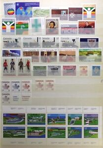 CANADA-Postage-Stamps-1983-Complete-Year-set-collection-Mint-NH-See-scans