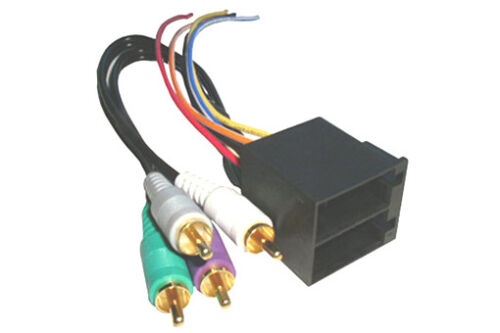91-99 Mercedes 99-04 Landrover Discovery Amp to Aftermarket Radio Harness Adapt.
