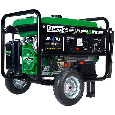 Duromax Xp4850eh 4 850 Watt Dual Fuel Hybrid Generator W Electric Start 811640013783 Ebay