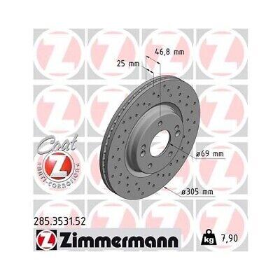 ZIMMERMANN 285.3531.52 Bremsscheibe