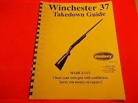 Takedown Manual Guide Winchester Single Shot Model 37 Shotgun, Good Reference