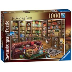 Ravensburger 19846 La SALLE de LECTURE 1000 Piece Jigsaw Puzzle Brand New & Sealed