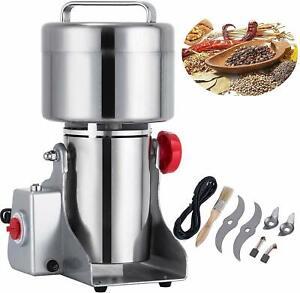 500G Electric Herb Grain Grinder Cereal Mill Powder Grinding Flour Machine