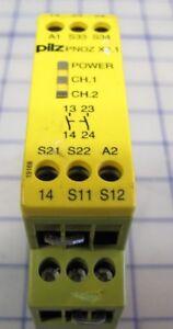 Pilz PNOZ 11 774080 Not-Aus-Schaltgerät