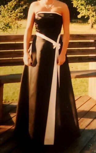 Gunne Sax Jessica McClintock Dress Formal Prom Bla