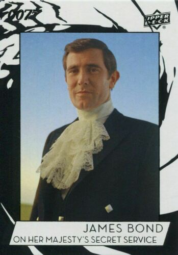James Bond Collection SP Base Card #140 George Lazenby as James Bond