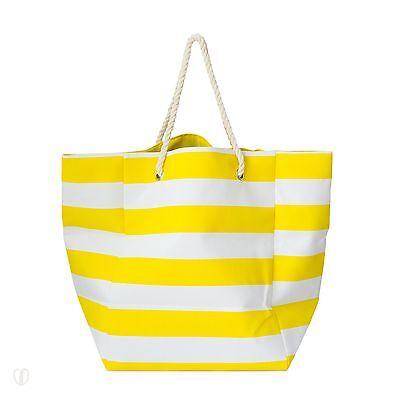 Strandtasche XXL Gestreift Maritim / Tasche, Shopper, Badetasche, Wäschesammler