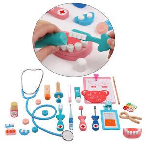 Kit-Complet-De-Docteur-Semblant-Jouer-Docteur-Infirmiere-Jeu-Playset-Jouets