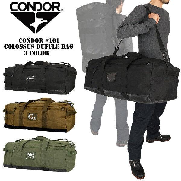 6f1b4e1cfb93 Condor 161 Tactical Military Colossus Duffle Shoulder Backpack Bag ...
