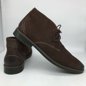 Clarks-Mens-Garren-Free-Chukka-Boots-Brown-Lace-Up-Ortholite-Cushioned-14-M