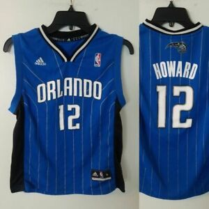 1f0495eb7d2 Orlando Magic Jersey ADIDAS YOUTH M Medium (10-12) BLUE  12 Dwight ...