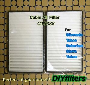 C15388 Purolator New Cabin Air Filter for Chevy Avalanche Suburban Yukon GMC