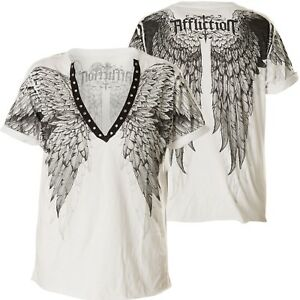 Of Age Affliction Ladies shirt Bianca Winter T qg7Hpwx