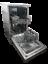 Domain-45cm-Slimline-8-Place-S-S-Electronic-Freestanding-Dishwasher-450mm