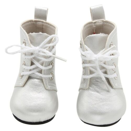 1 Pair Mini Shoes Boots For 18 Inch Doll Toy Girl /& Boy Dolls us .fu0