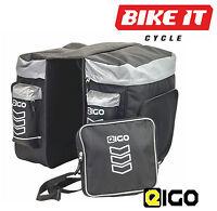 Eigo Hopper 40l Bicycle Double Pannier Bag Set Large Cycling Commuting Bags