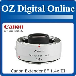 New-Canon-Extender-EF-1-4x-III-For-EOS-60D-7D-5D-1-Year-Au-Wty