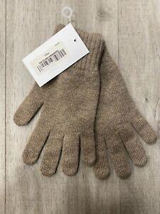 Men's Pure Cashmere Gloves | Johnstons of Elgin | Made in Scotland | Otter