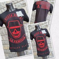 "Philipp Plein Shirt ""GANG"" - aktuelle Kollektion / Größe ""L"" (large)  black"