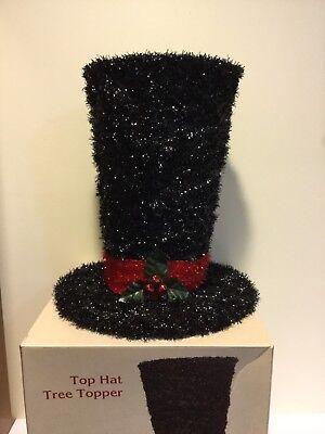 Cracker Barrel Top Hat Tree Topper 16 Quot Snowman Hat
