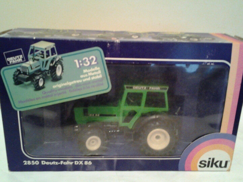 Siku 1 32     2850 deutz fahr dx 86 tractor  boxed rare