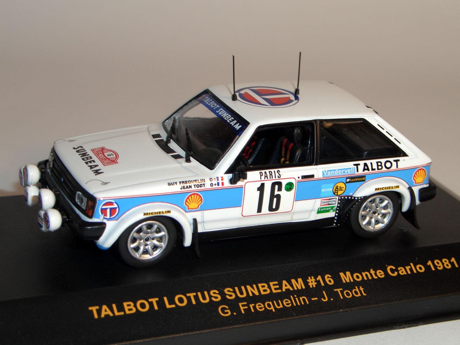 Talbot rallye monte carlo 1981, 1 43 - IXO