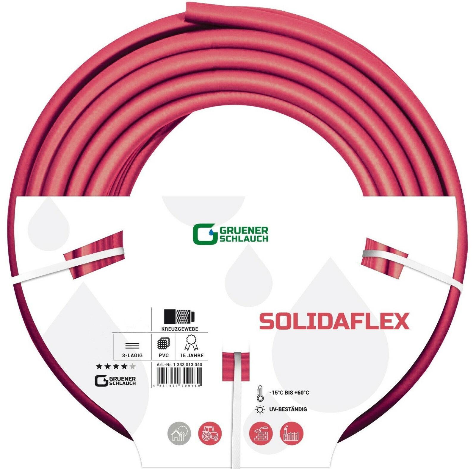 Gartenschlauch SOLIDAFLEX SOLIDAFLEX SOLIDAFLEX Wasserschlauch Schlauch PVC 1 2  3 4  1  Zoll 20 40m | Günstigen Preis  | Großer Verkauf  | Moderne und stilvolle Mode  676a4a