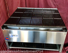 New 24 Lava Rock Char Broiler Gas Grill Stratus Scb 24 1120 Commercial Nsf Usa