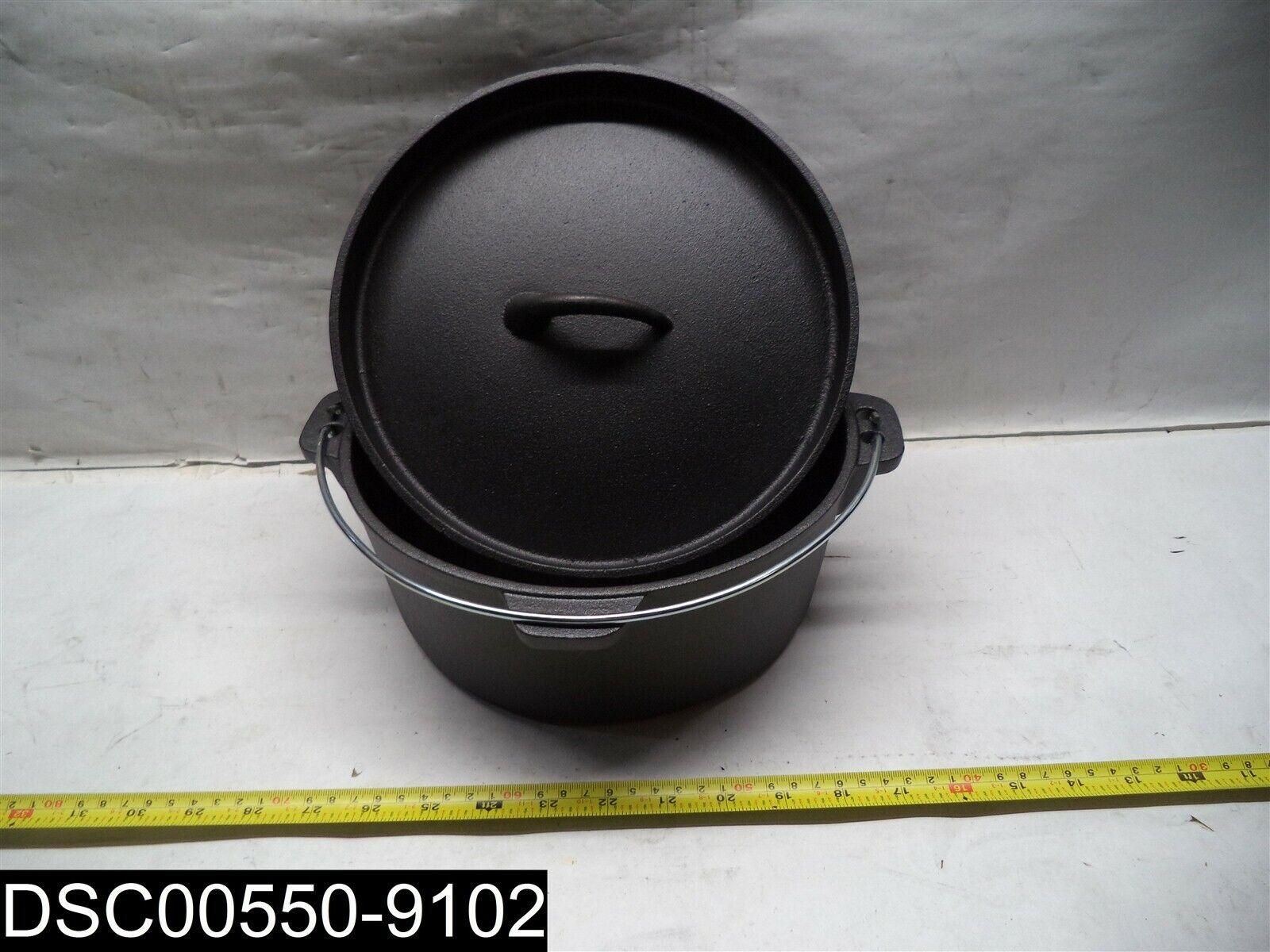 Qualité = 2  guzs 130 d'un Guro Cookware pré-assaisonné Cast Iron dutch oven 4.7 QT