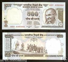 500 Rupees Gandhi Marching C.Rangarajan Grey (4th Issue) @ UNC Condition ( H-4)