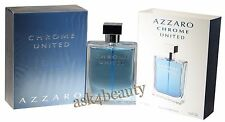 Azzaro Chrome United By Azzaro 3.3oz/100ml Edt Spray For Men New In Box