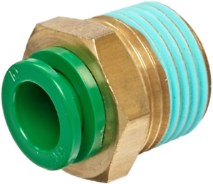 SMC-KRH12-03S-KR-Air-Fitting-Male-Connector-12mm-Tube-3-8-034-Thread-Pack-of-5