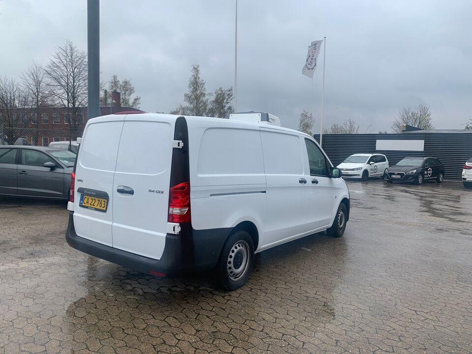 Mercedes Vito 114 2,2 CDi Go L d Diesel modelår 2018 Hvid km