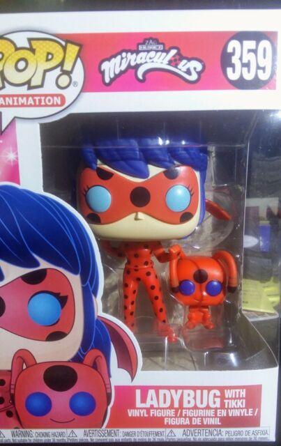Funko Pop and Buddy Miraculous-Ladybug with Tikki Collectible Figure,