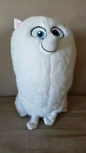 "Toy Factory The Secret Life Of Pets 2 Gidget Plush White Pomeranian 12"" Tall"