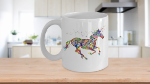 Glitter-Unicorn-Mug-Colorful-White-Coffee-Cup-Funny-Gift-for-Majestic-Magical