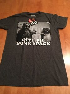 Star Wars /'Give Me Some Space/' Darth Vader /& Princess Leia T-Shirt Size 3XL