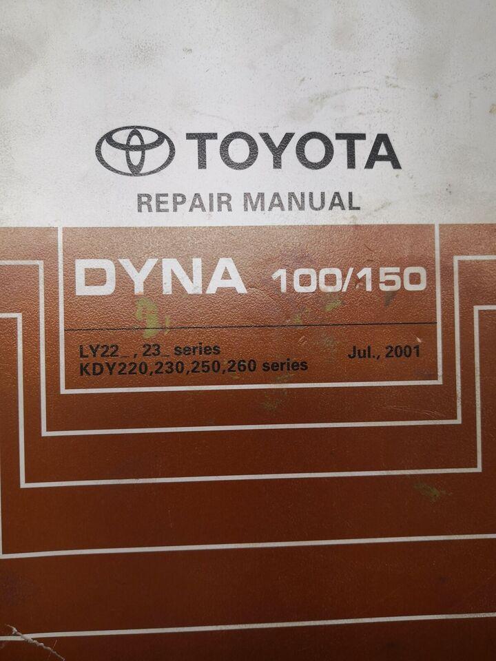 (91)Reparationsbog, Toyota Dyna