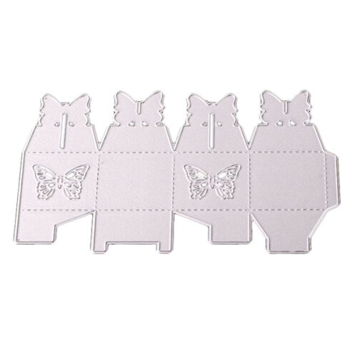 Metal Butterfly Die Cutter Card Wedding Sweets Biscuit Gift Box Cutting Dies