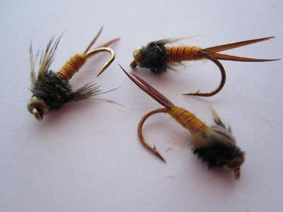 1 DZ D16-5 BEAD HEAD PHEASANT TAIL NYMPHS SIZES AVAILABLE