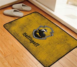 Film Harry Potter Velboa Floor Rug Carpet Room Doormat Non-slip Chair Mat #4