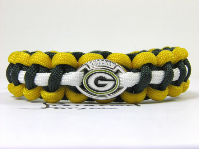 NFL Green Bay Packers Armband-neuem Charm-Männer Armband-Super Bowl-Paracord