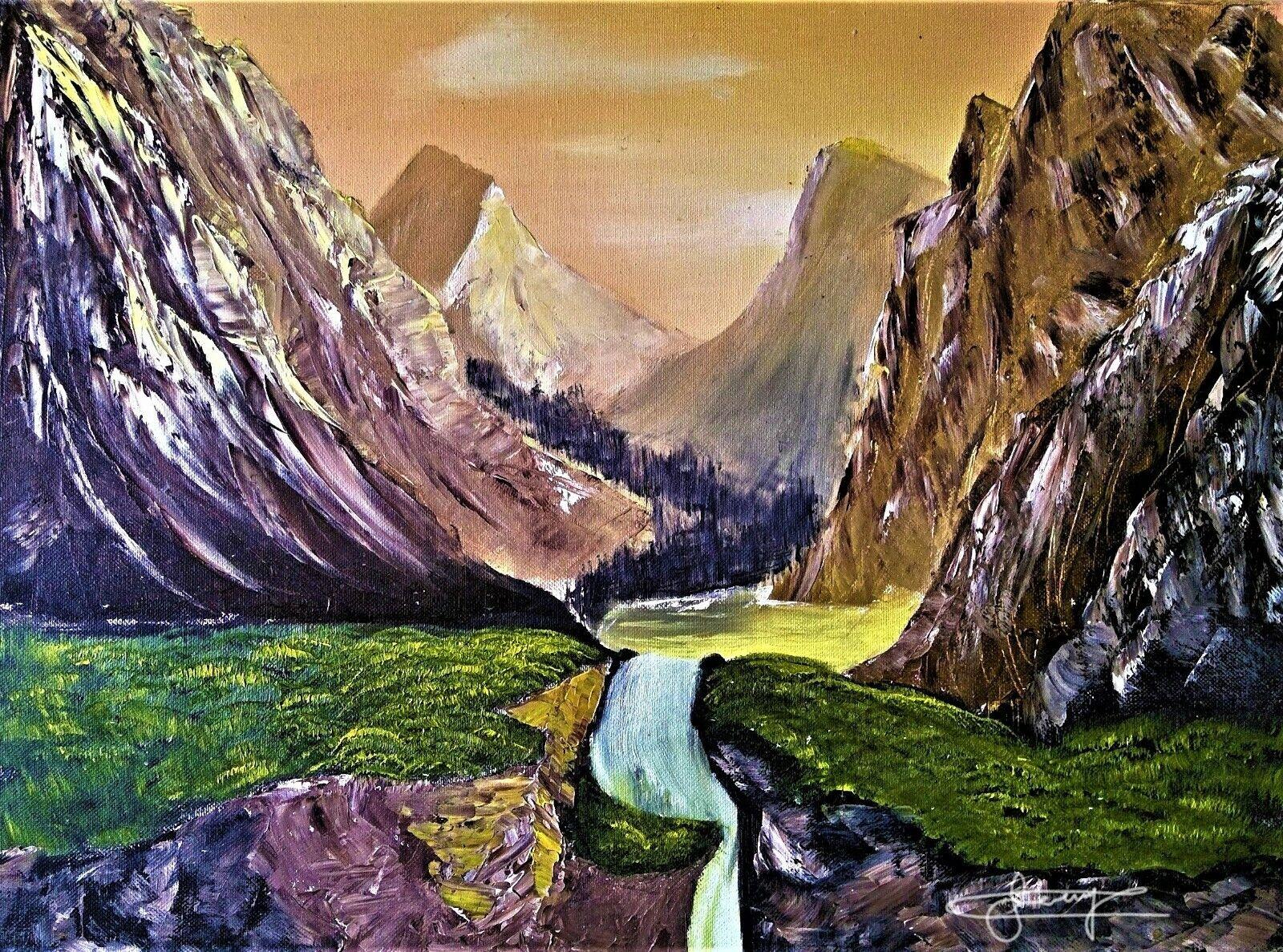 Landscape Art : Panoramic Painting, Panorama, Rocky Mountain Art, Romantic... 10
