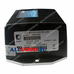 Curtis programmable dc sepex motor controller 1243 4220 for Curtis dc motor controller 1243