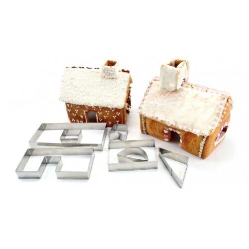 pain d/'épices-Maison pain d/'épices Emporte-pièce faire des gâteaux Moule Perfect Home