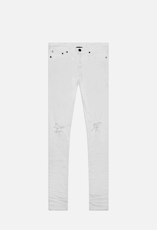 John Elliott NWT The Cast 2 white Denim Jeans 36 New With Tags
