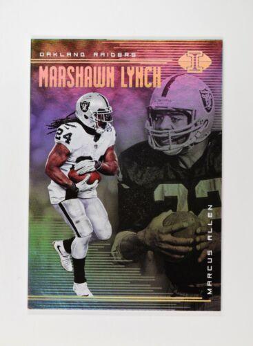 2018 Illusions base #74 Marcus Allen Marshawn Lynch
